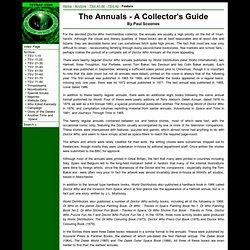 NZDWFC: TSV 42: The Annuals - A Collector's Guide