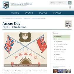 Anzac Day - Anzac Day