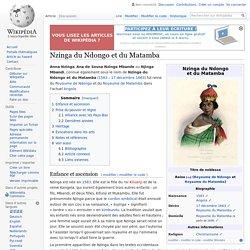 Anne ZINGHA, reine du Matamba (Angola)
