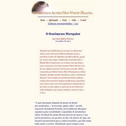 O fenômeno Merquior