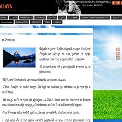 O ŽIVOTU - Alaya