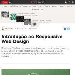 O que é Responsive Web Design?