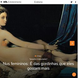 O sexo e as artes