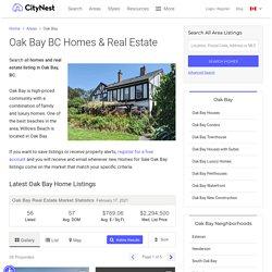 Homes for sale oak bay