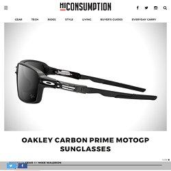 Oakley Carbon Prime MotoGP Sunglasses