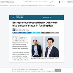OakNorth has raised investment from The Clermont Group.jpg