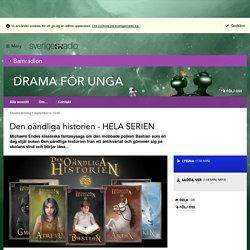 Den oändliga historien - HELA SERIEN 1 september kl 10:00 - Drama för unga