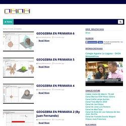 OAOA Matemáticas: Geogebra