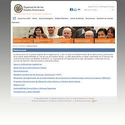 OEA Democracia