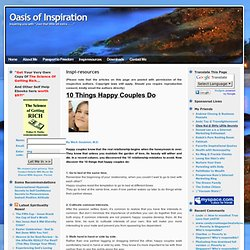 Oasis of Inspiration & Inspi-resources