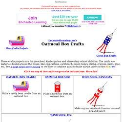 Oatmeal Box Crafts
