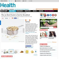 Oatmeal - The Best Foods to Eat for Breakfast