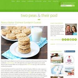 Peanut Butter Oatmeal Sandwich Cookies Recipe