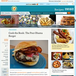 Cook the Book: The Prez Obama Burger