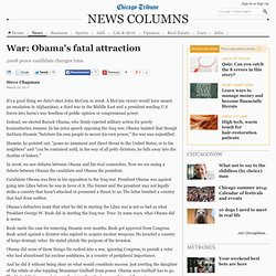 Obama and Libya: Obama goes to war in Libya