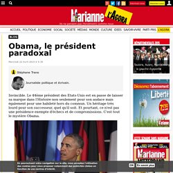 Obama, le président paradoxal