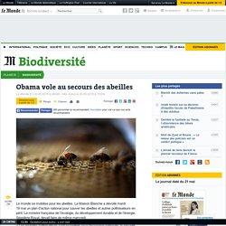 Obama vole au secours des abeilles