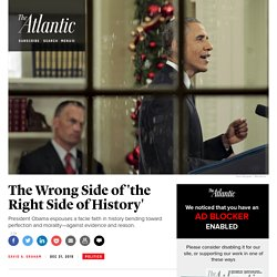 Obama and the Wrong Side of History