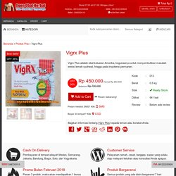 Obat Vigrx Plus Asli USA - Agen Vigrx Plus Original Murah