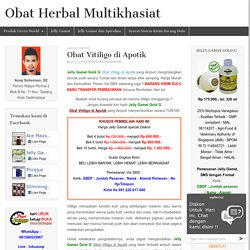 Obat Vitiligo di Apotik