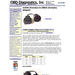 OBD Diagnostics, Inc. - OBD2 All-In-One Scan Tool w/ USB