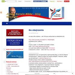 Do obejrzenia - Janusz Korwin Mikke - blog oficjalny - Onet.pl Blog