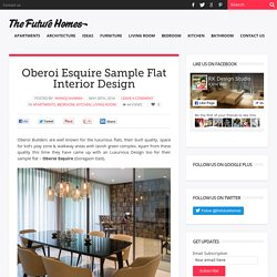 Oberoi Esquire Sample Flat Interior Design