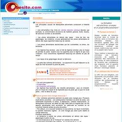 le site francophone de l'obésité