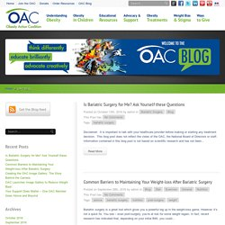 Obesity Action Coalition » OAC Blog