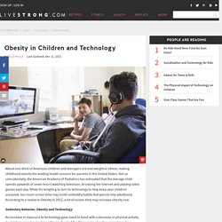 Obesity in Children and Technology