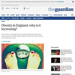 THE GUARDIAN 23/02/12 Obesity in England: why is it increasing?