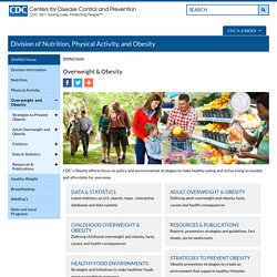 CDC - Overweight and Obesity