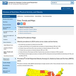 Obesity Prevalence Maps 2014 - Centers for Disease Control and Prevention