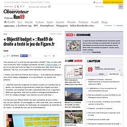 «Objectif budget»: Rue89 de droite a testé le jeu du Figaro.fr