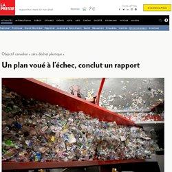 Objectif canadien «zéro déchet plastique»