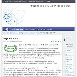 Objectif DNB