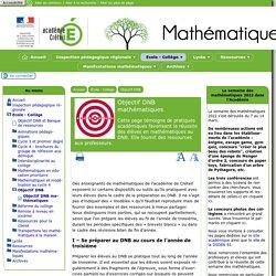 Objectif DNB mathématiques - [Mathématiques]