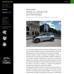 BMW i3 : objectif entreprises