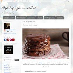 zéro miette! : Pancakes tout chocolat