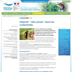 """Objectif : """"zéro phyto"""" dans les collectivités"""