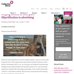 Keeping women in their place: Objectification in advertising