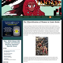 The Objectification of Women in Graphic Novels