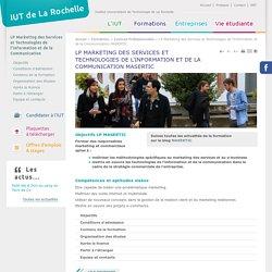Licence pro MASERTIC IUT La Rochelle