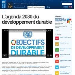 Objectifs de développement