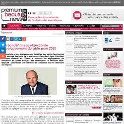 L'Oréal définit ses objectifs de développement durable pour 2020