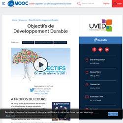 MOOC Objectifs de Développement Durable