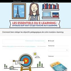 Comment rédiger les objectifs pédagogiques de votre module e-learning