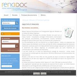 Objectifs et principes... Catalogue en ligne