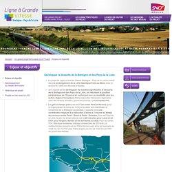 Palioù ha dalc'hoù: Enjeux et objectifs - Ligne à Grande VITESSE - Bretagne Pays de la Loire