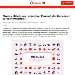 Etude « Mille Lieux : objectiver l'impact des tiers-lieux sur les territoires »